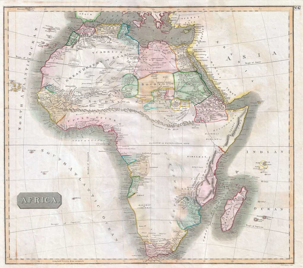 Satellite Images And Early Maps Of The Cape Of Good Hope And