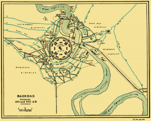 Image of the city of Baghdad
