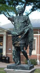 Statue of Caesar Augustus, Wriston Quad (Wikimedia Commons)