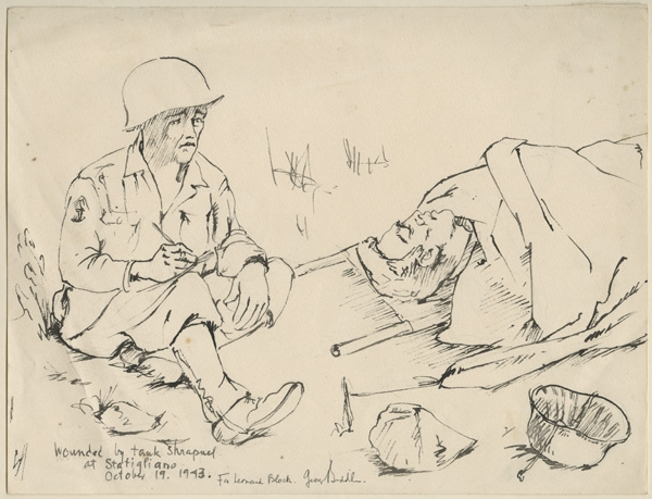 World War Two Drawings Acquired Anne S K Brown Military