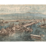 New Pier at Annesley Bay 1868