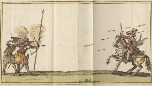 Archers Piquiers 17th century