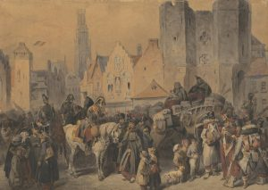 Bellange Ghent 1814