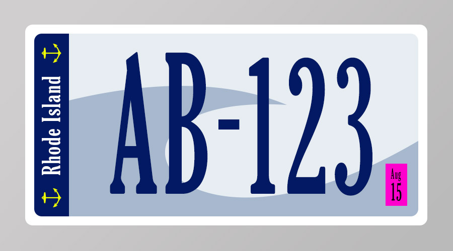 RI License Plate Design Idea