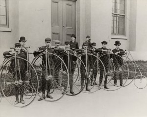 Bicycle club 1886