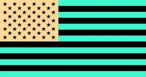 us_flag illusion