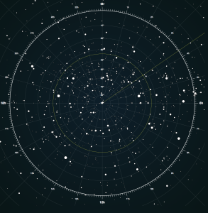 Interactive Star Map Northern Hemisphere.Interactive Star Map Changing In The Hours Of The Day Clps 1580c