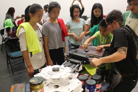 Youth Arts Screenprinting Workshop