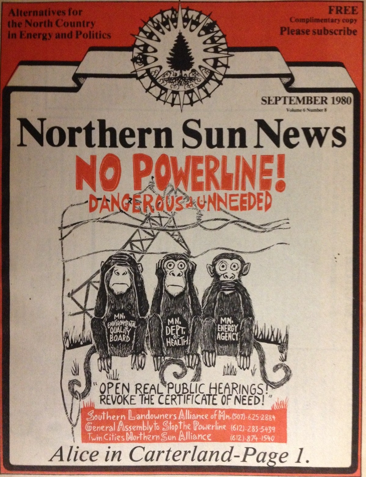 The Northern Sun News Red Lake, Canada. The Northern Sun News is a weekly broadsheet newspaper with a distribution area including the communities of Red .