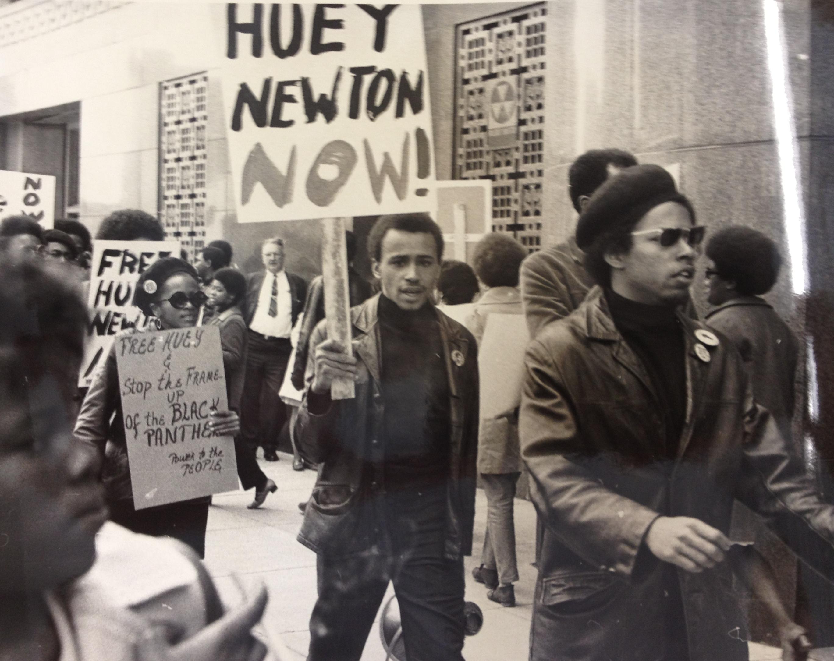 Free Huey Newton Rally Post Office Square, Boston, MA (May 1, 1969)