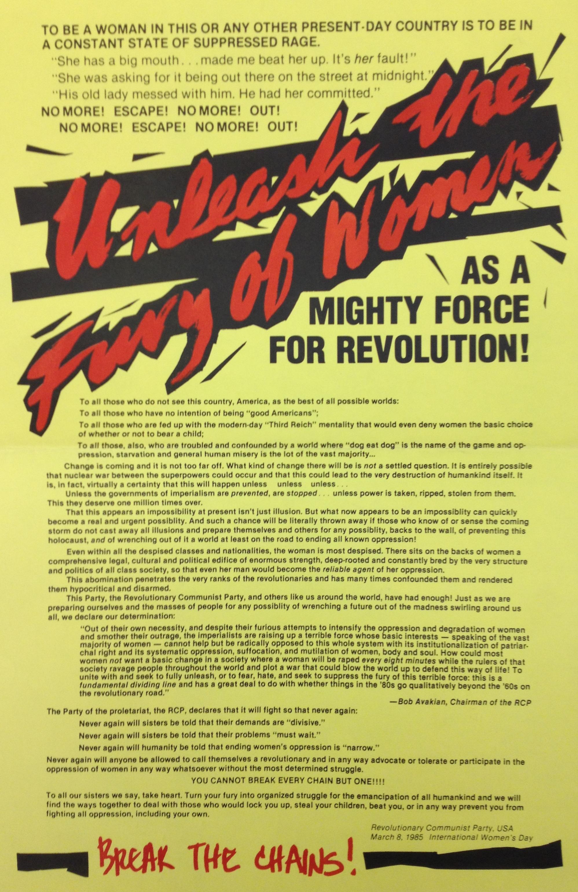 Revolutionary Communist Party, USA