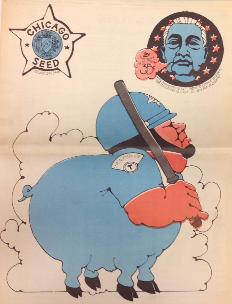Chicago Seed Cover (September 1968)