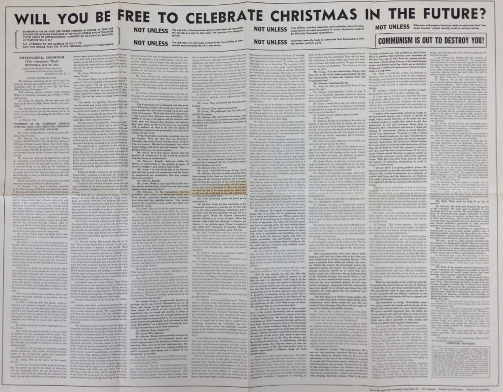 Allen Bradley Christmas Poster (1957)