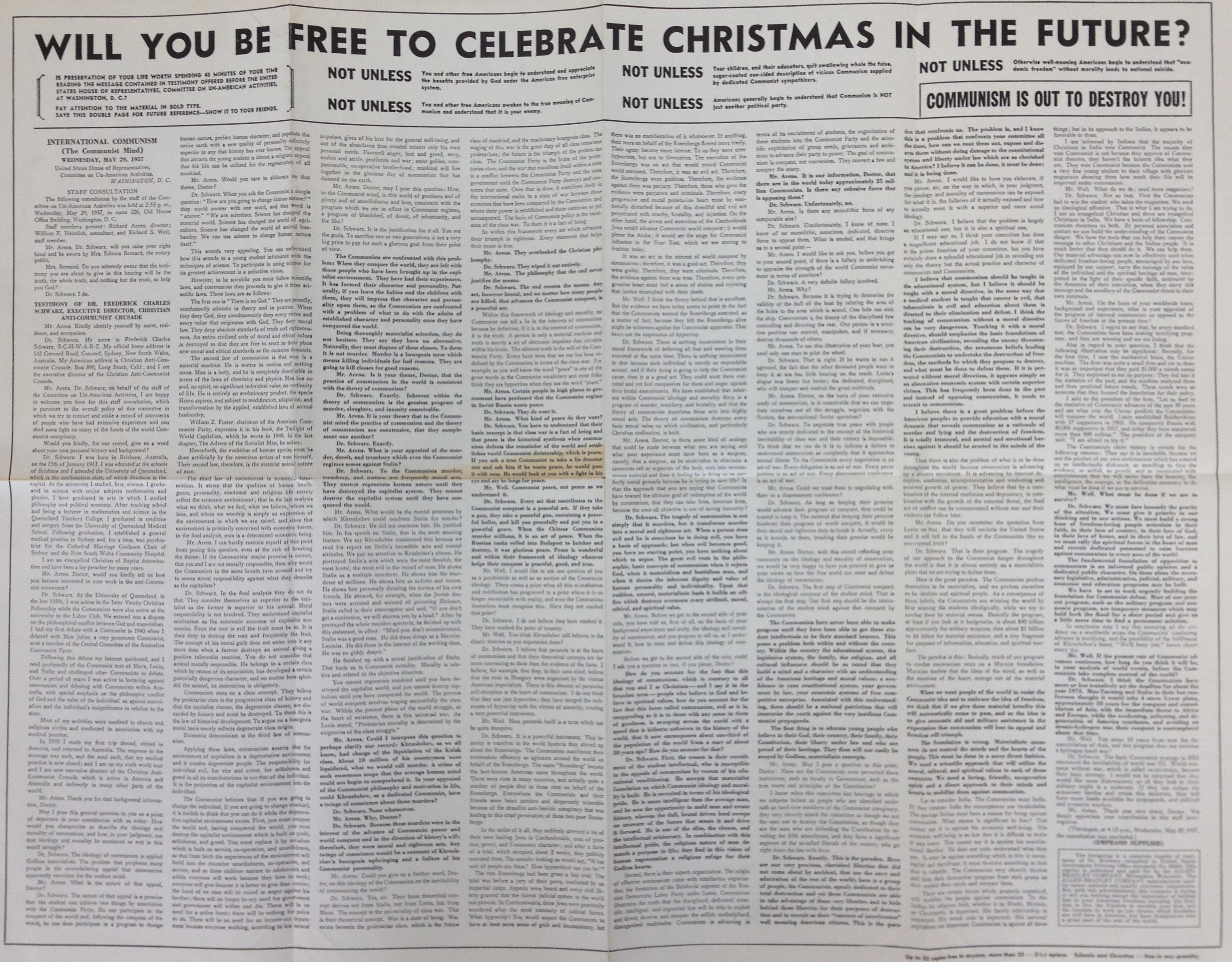 Will You Be Free To Celebrate Christmas?