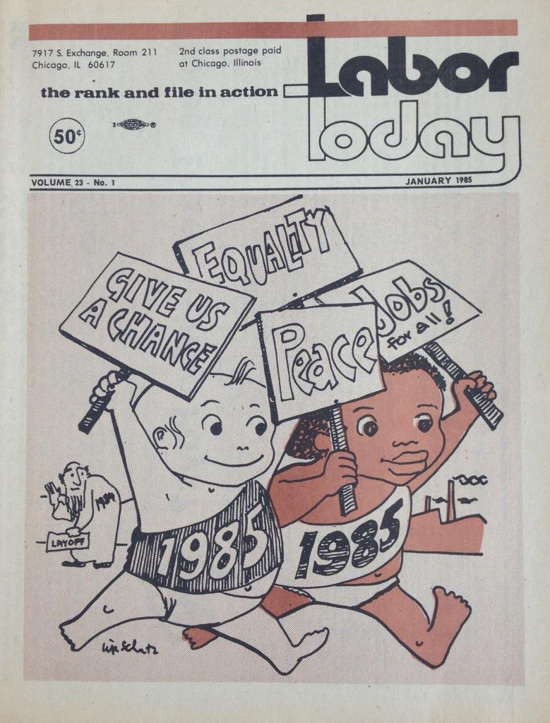 Labor Today January 1985