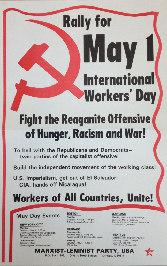 May Day Poster (Unknown Date)