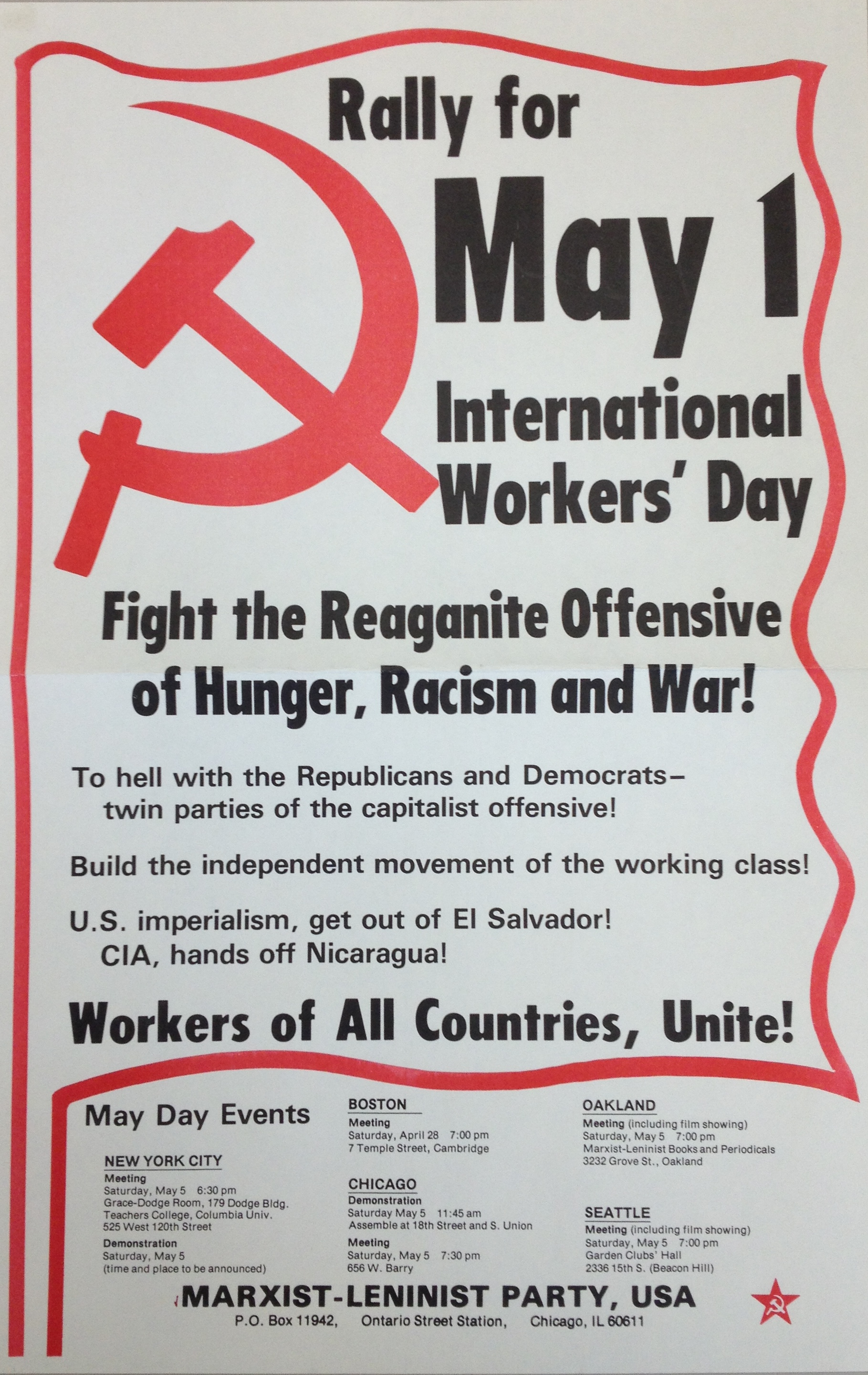 Marxist-Lenninist Party USA