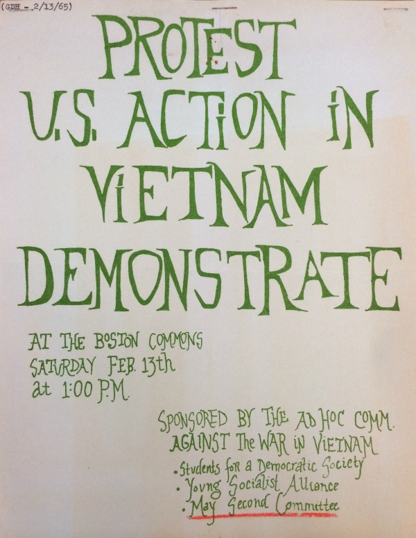 Ad Hoc Committee Against The War in Vietnam (1965)
