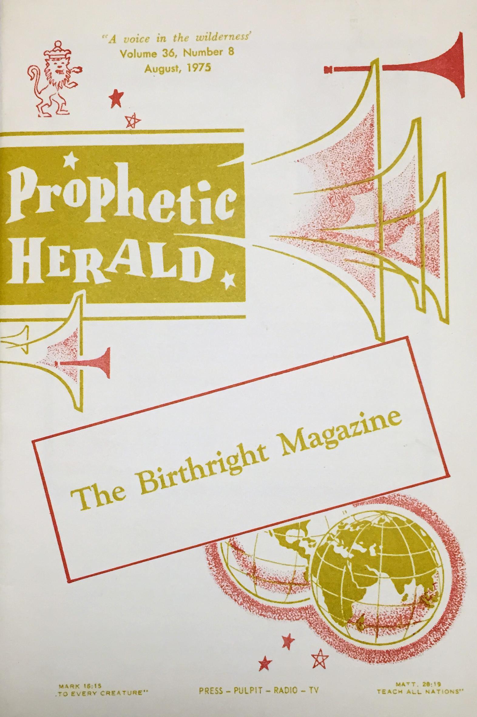 Prophetic Herald (1975)