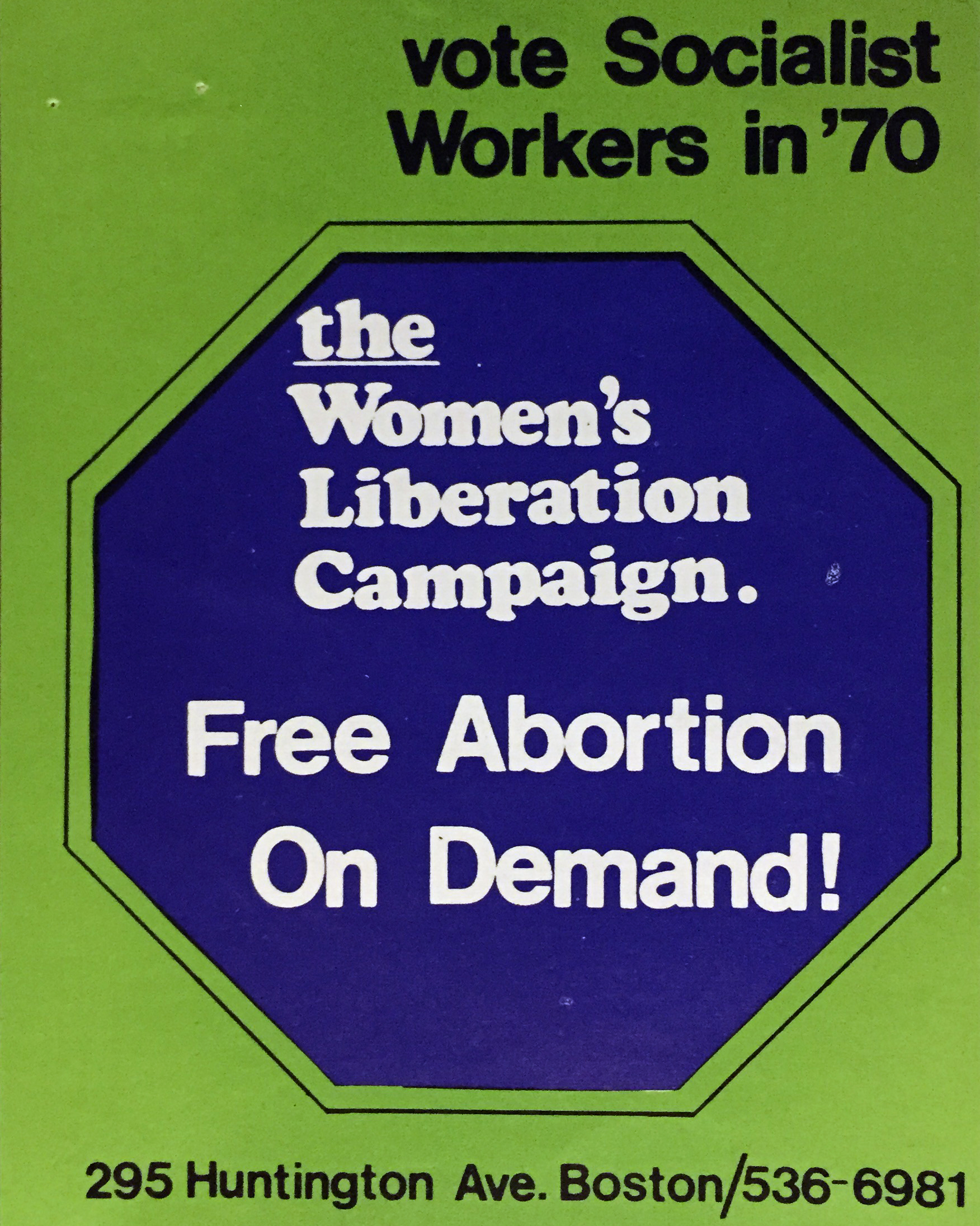 Women's Liberation Sticker (1970)