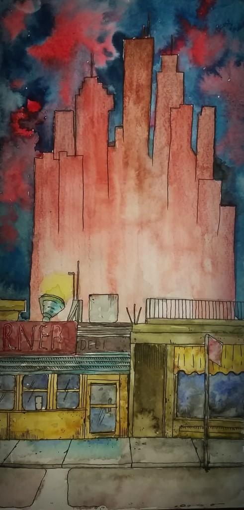 Art by He Ri Kwon '16