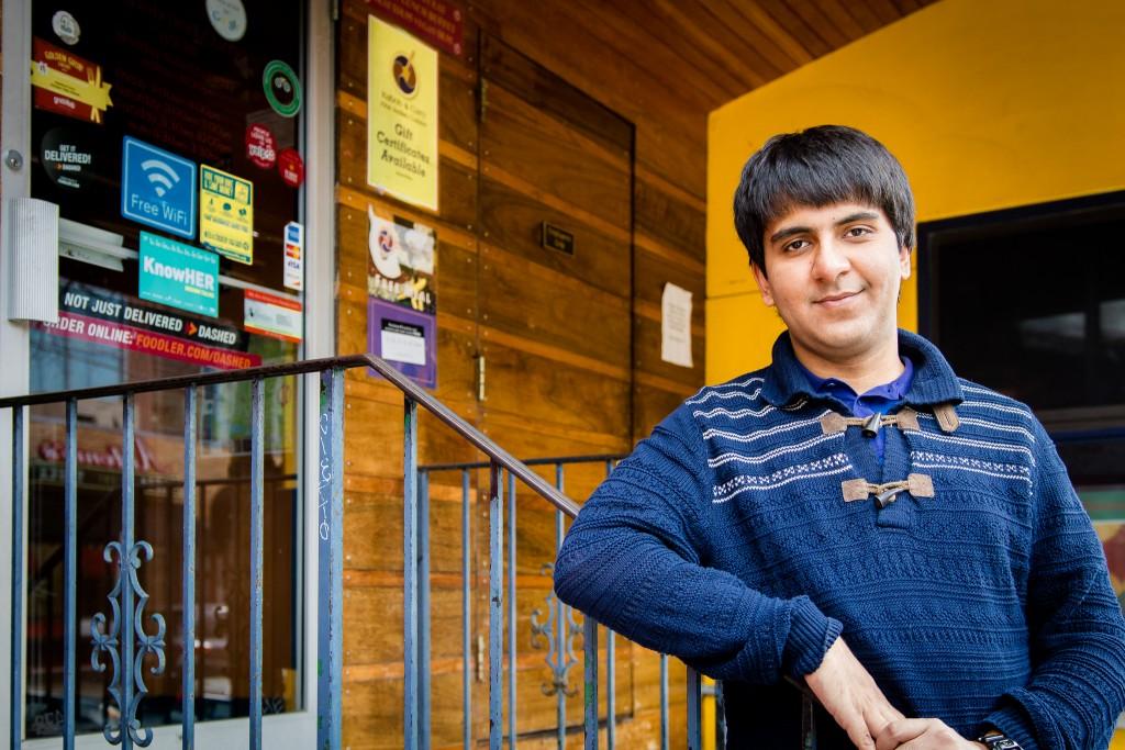 Daniyal Khan '16. Photographed by Victor Alvarez '19 IWB Staff Photographer. March 2016.