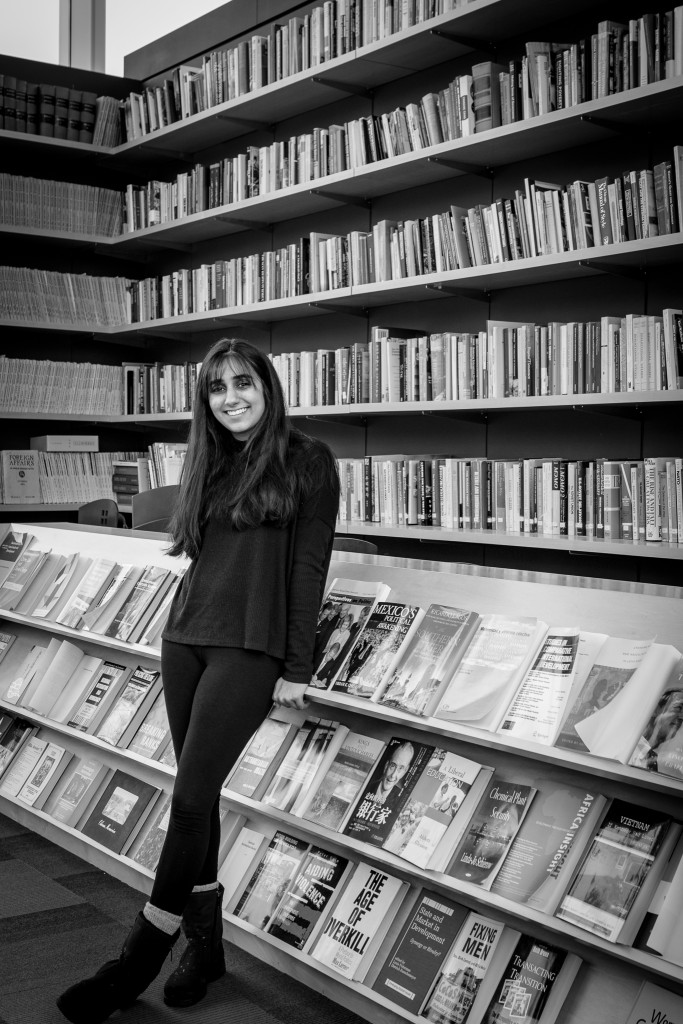 AROHI KAPOOR '16.5. PHOTOGRAPHED BY VICTOR ALVAREZ '19, IWB STAFF PHOTOGRAPHER, APRIL 2016.