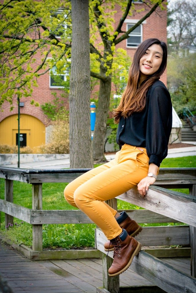 He Ri Kwon '16.5, Photographed April 2016 by Victor Alvarez '19, IWB Staff Photographer.