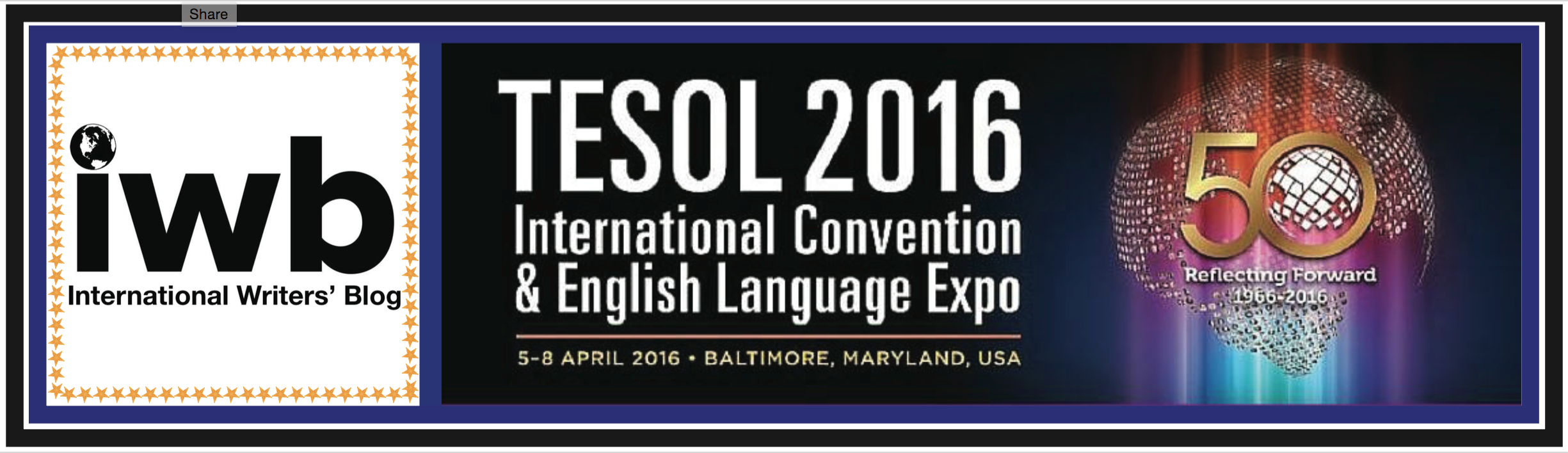 IWB is at the 50th Annual Conference for TESOL!