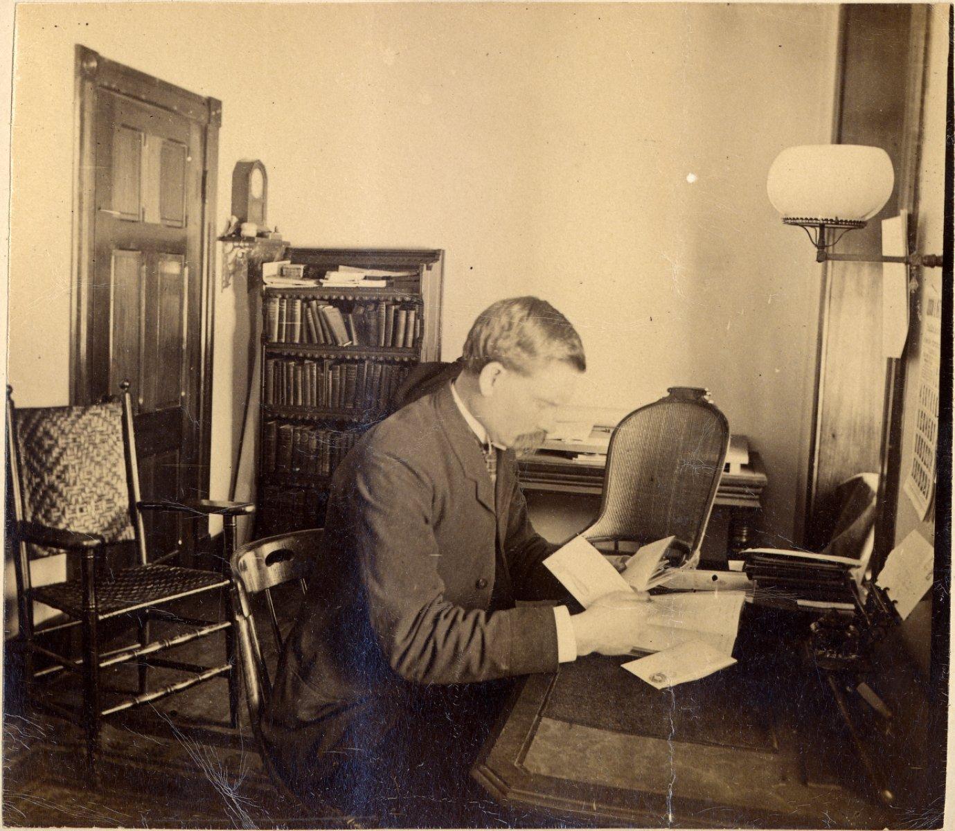 Archibald G. Delaney, 1884