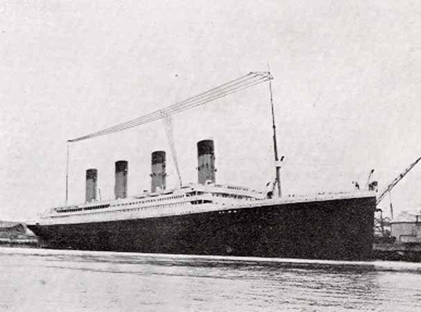 Titanic's Aerial