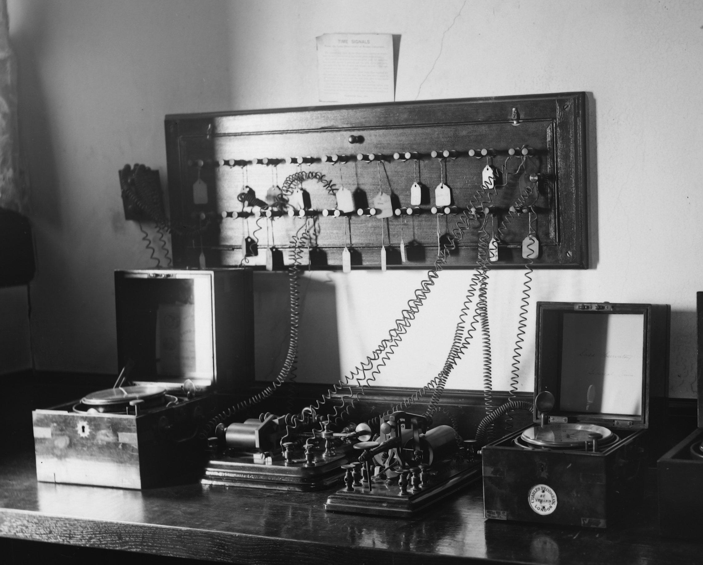 Chronographs and telegraph