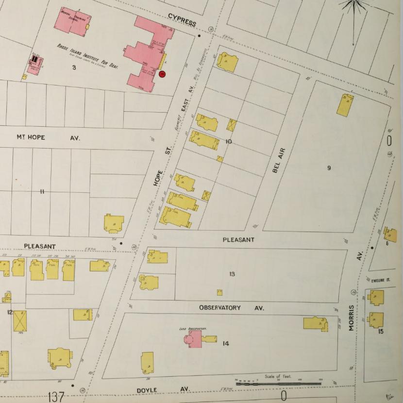 Sanborn map 1900