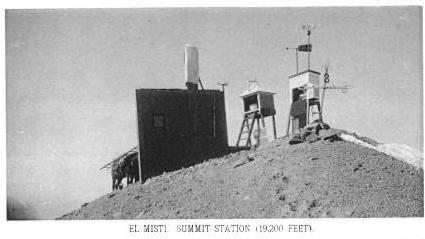 El Misti Summit Station