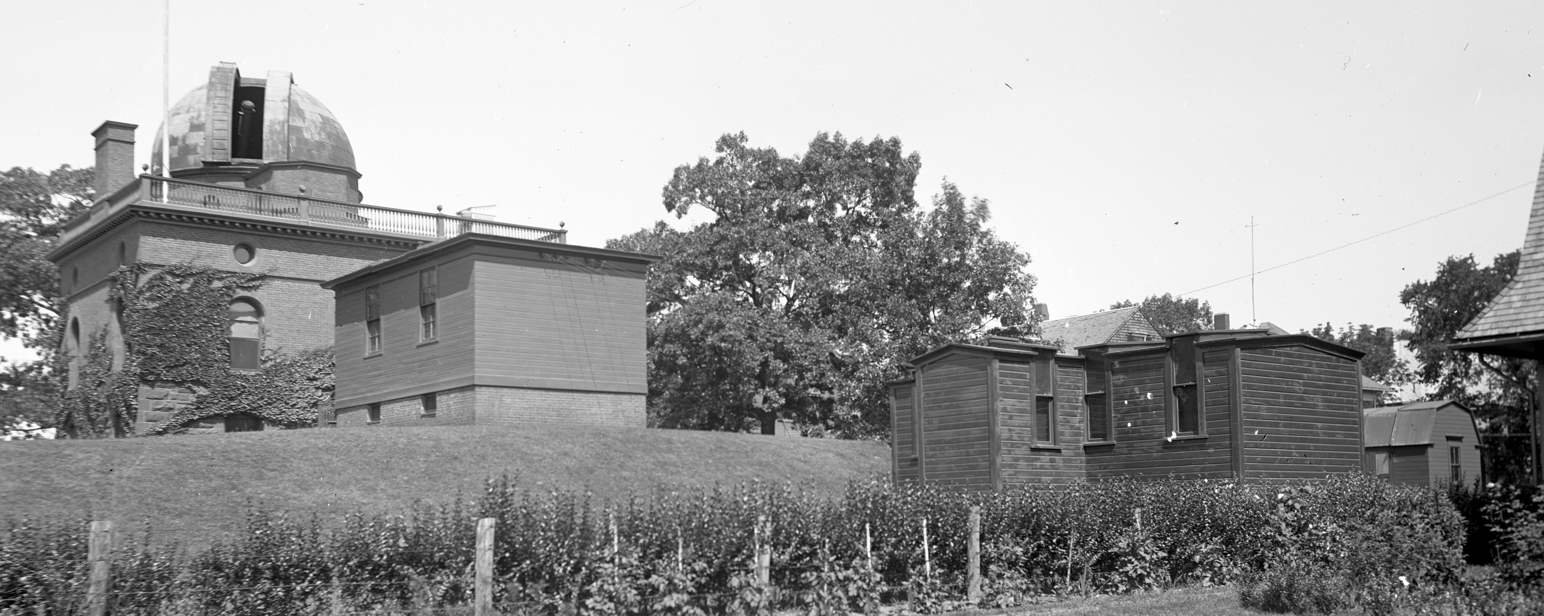 Ladd Observatory and transit shed