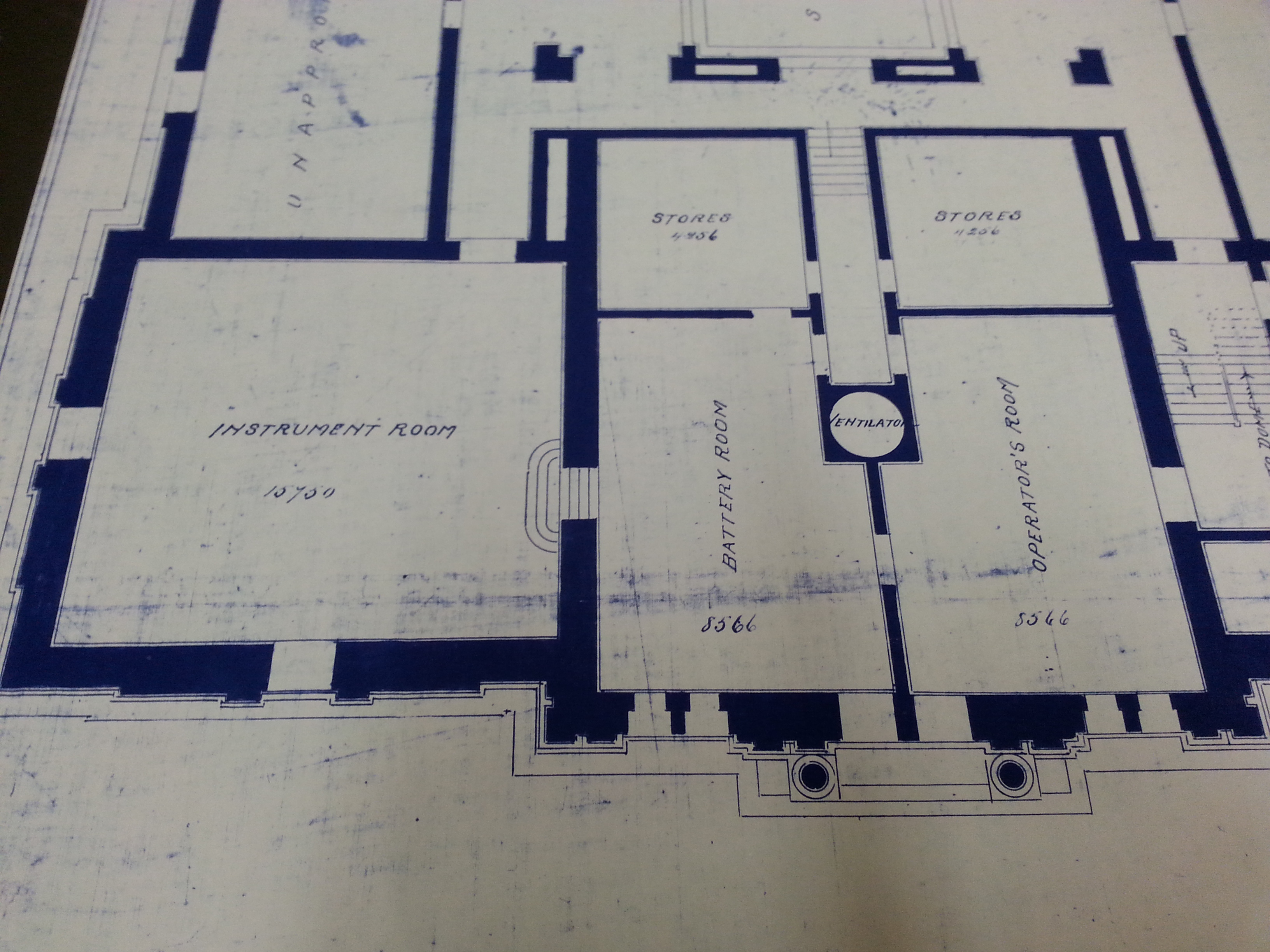 City Hall blueprint