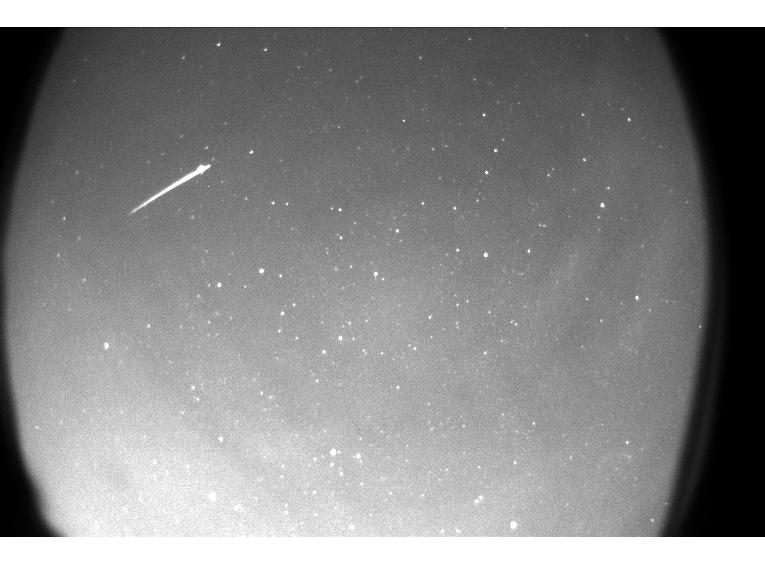 Quadrantid meteor