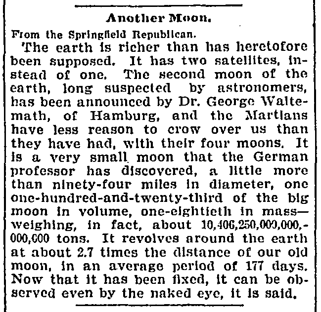 The Washington Post, February 11, 1898