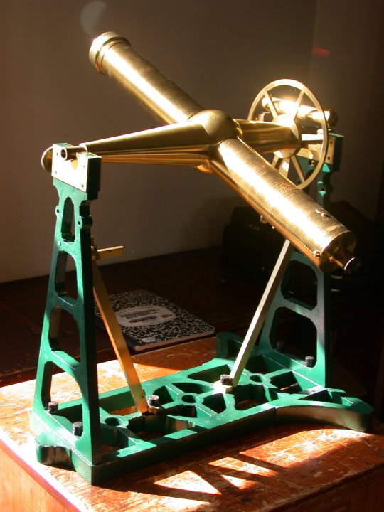 Parkinson & Frodsham transit telescope