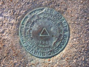 National Geodetic Survey marker