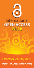 Open Access Week October 24-30, 2011