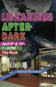 Librarians After Dark - 4/9 & 4/10 in the Rock