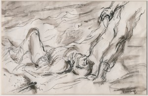 Bromberg study for D Day