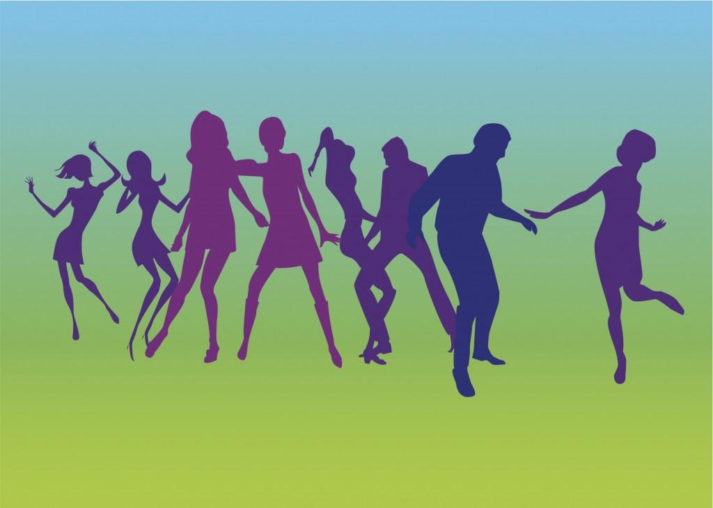 Dancers-Silhouettes-Vectors