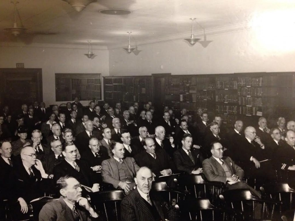 Friends of the Brown University Library Meeting, c. 1940