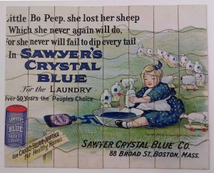 Sawyer's Crystal Blue Little Bo Peep puzzle