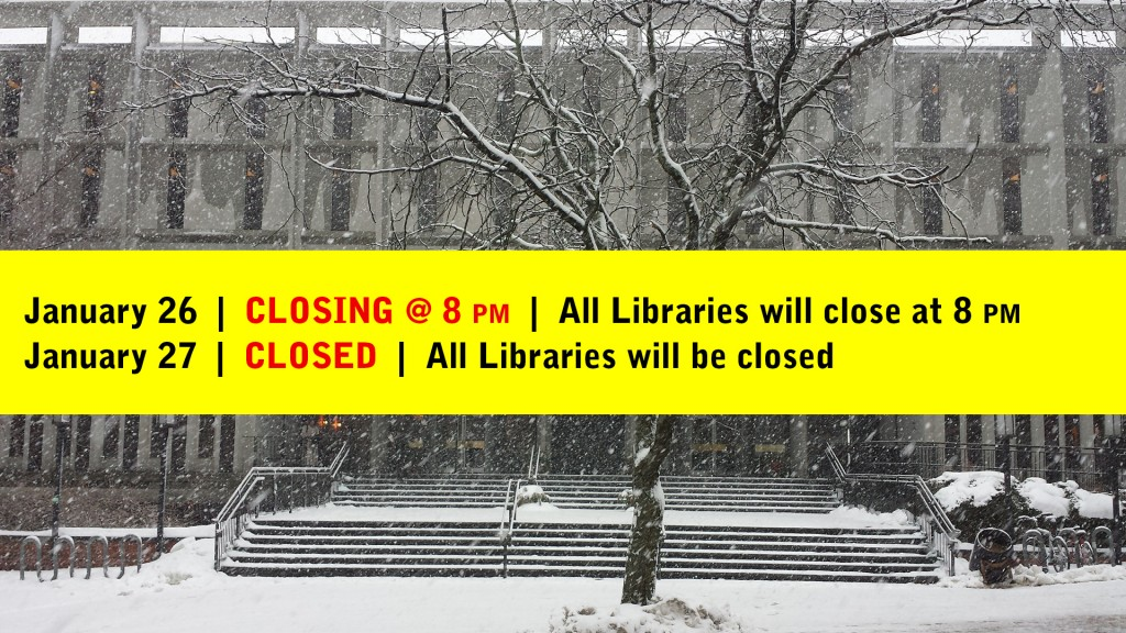 Library Closing Because of Snow