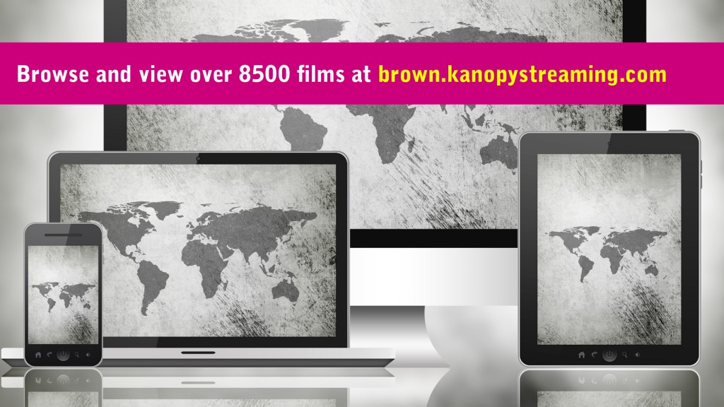 Kanopy streaming at Brown
