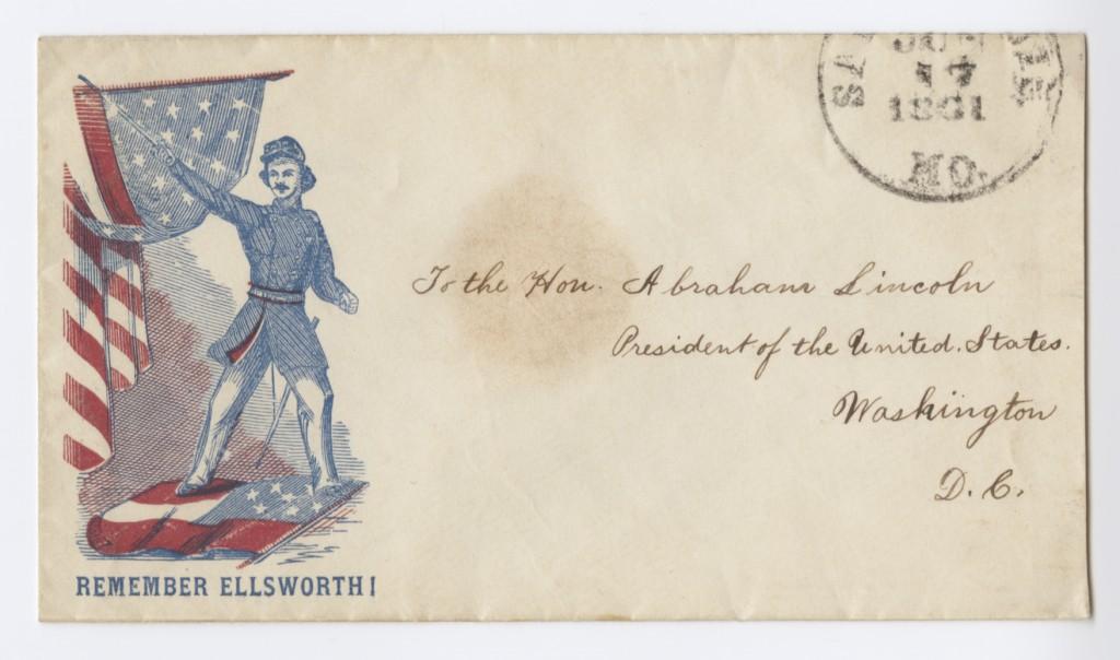 Lincoln envelope
