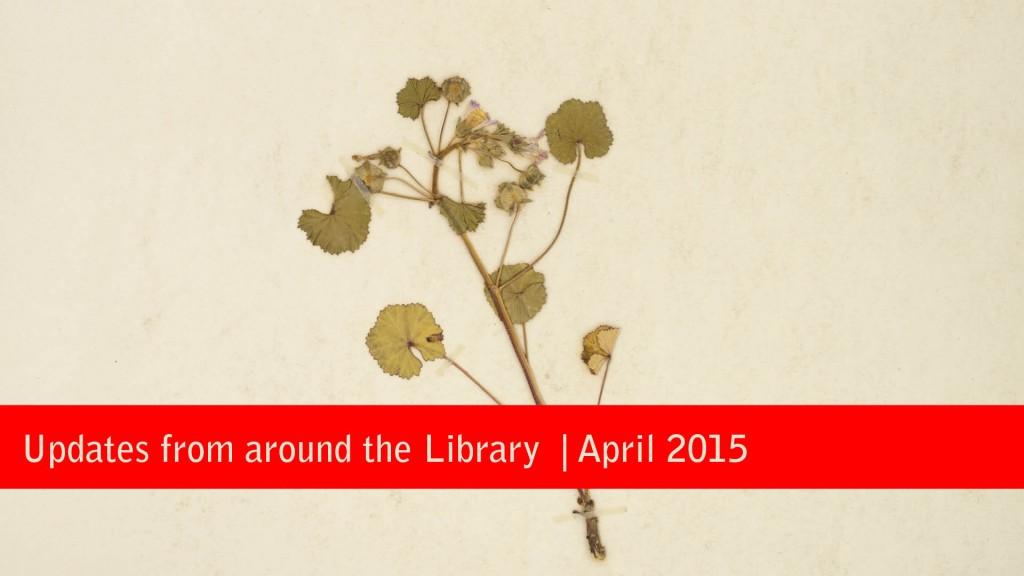 April Blog Updates